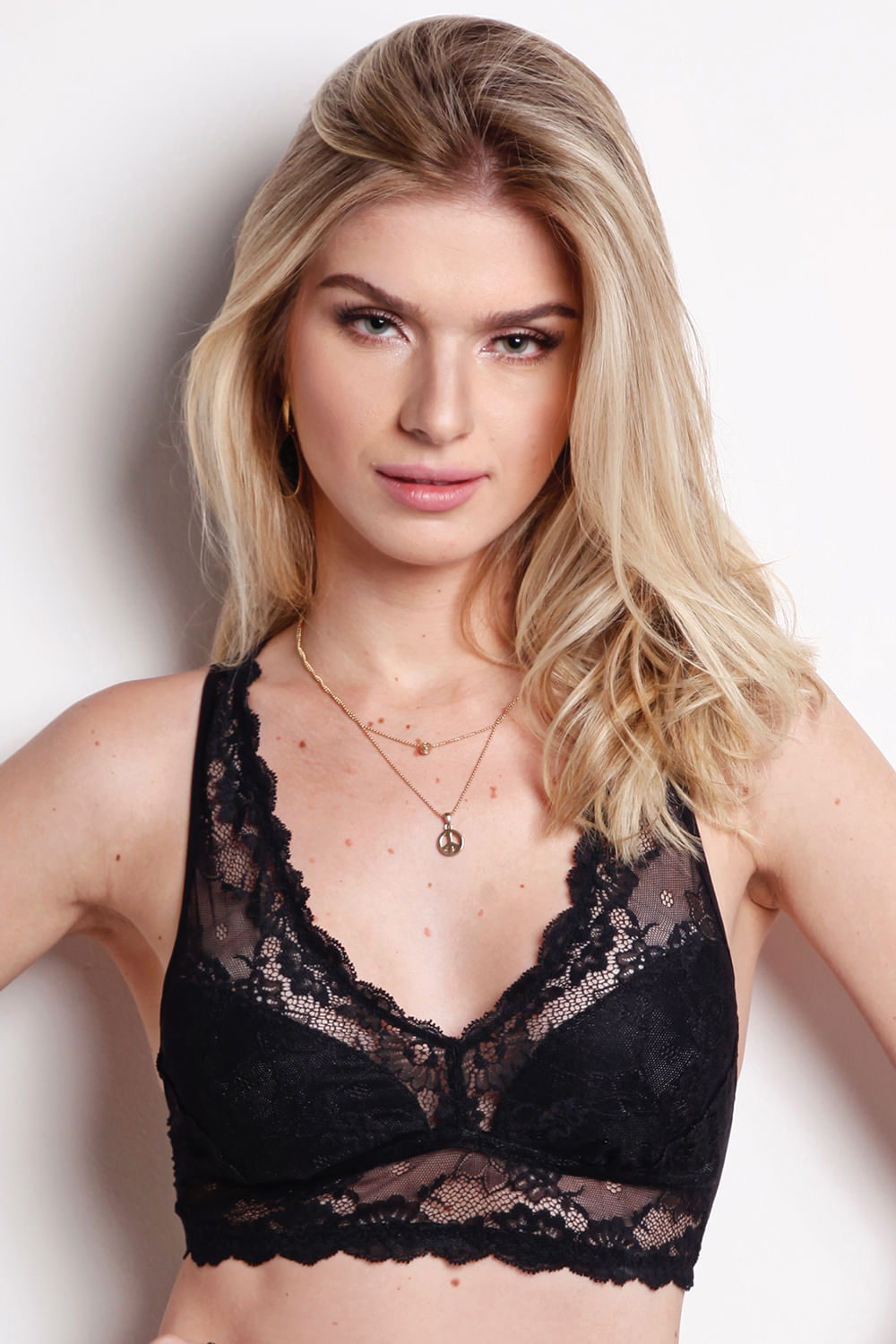 4c3afa27a Top Nadador - Lace - 314.75 - Preto - Darling