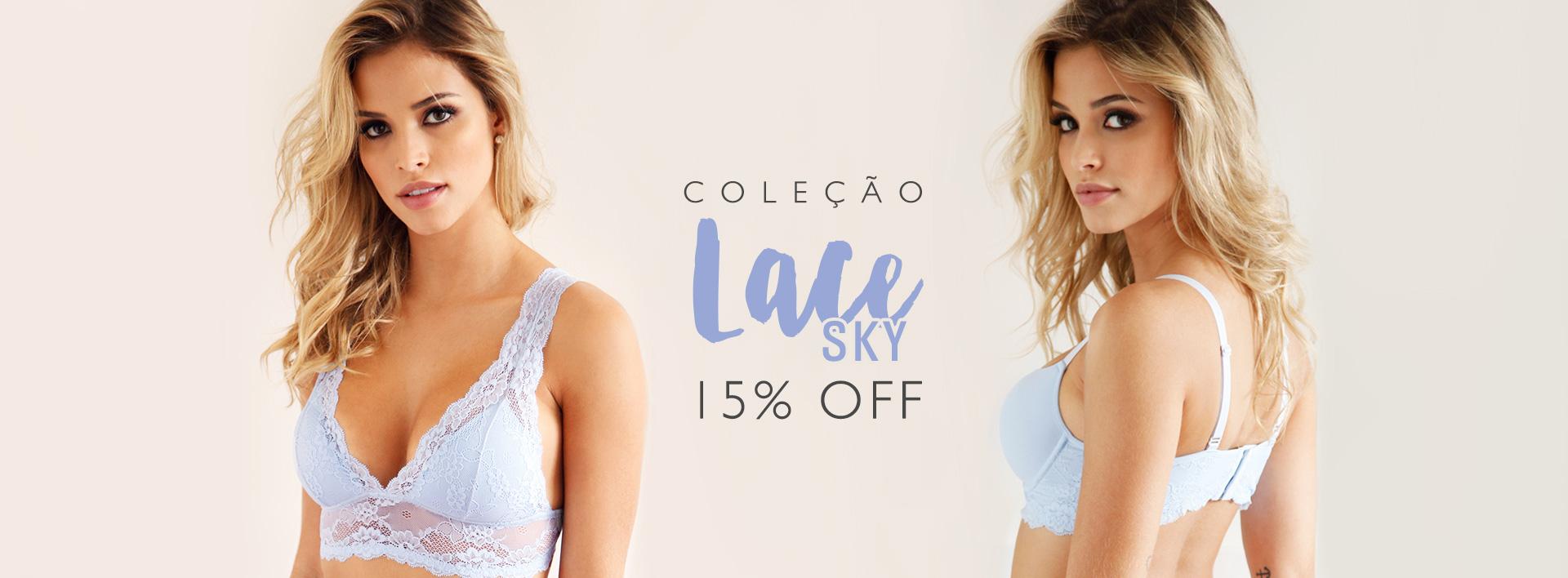 15% off lace sky