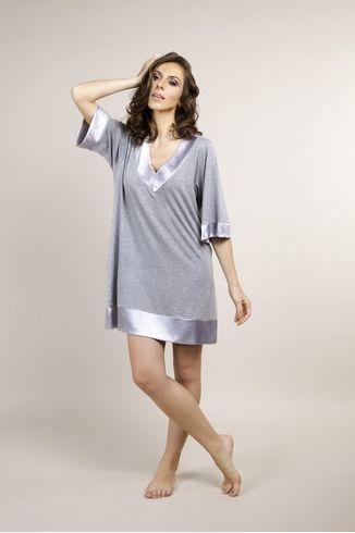 Pijama-Camisao---Mescla