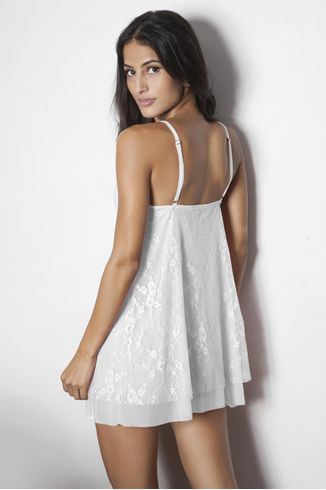 Camisola Com Biju - Maiorca - Branco - 147.30