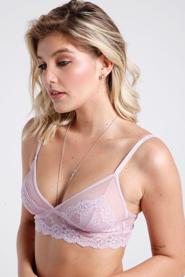 Sutiã Bralete Com Tule - Lace - 314.43 - Miss
