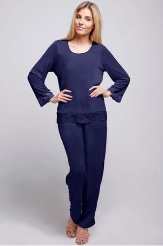 Pijama-Manga-Longa---Lace---314.34---Mediterrianeo---Tamanho-Pequeno