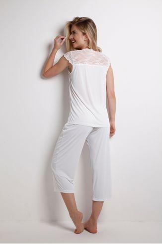 Pijama-Pescador-Manga-Curta---Lace---314.32---Branco---Tamanho-Pequeno