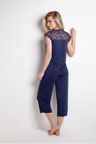 Pijama-Pescador-Manga-Curta---Lace---314.32---Mediterraneo---Tamanho-Pequeno