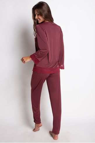 Pijama-Manga-Longa---Lace---314.34---Merlot---Tamanho-Medio