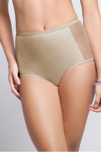 Calcinha-Hot-Pants-Com-Tule---Compact---06.95---Nude---Tamanho-Medio